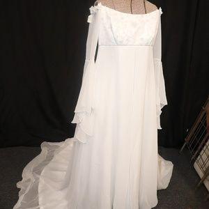 Ashley Jordan wedding wedding gown sz 10 (HH0523)